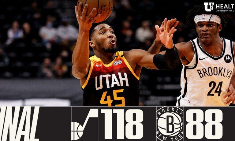 NBA Αποτελέσματα: «Διέλυσαν» τους μισούς Νετς οι Τζαζ (vids)