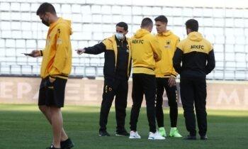 Η ΑΕΚ αγωνίζεται την Κυριακή (17:15) κόντρα στον Αστέρα Τρίπολης στο ΟΑΚΑ, για την 4η αγωνιστική των πλέι οφ της Super League.