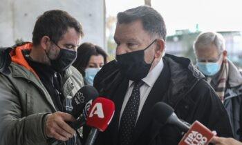Κατηγορηματικά αθώος δηλώνει ο Δημήτρης Λιγνάδης για τη νέα καταγγελία εναντίον του για βιασμό, όπως ανακοίνωσε ο δικηγόρος Αλέξης Κούγιας.