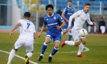 Λαμία - ΠΑΟΚ 1-1: Τη θέση του στα ημιτελικά του Κυπέλλου Ελλάδας εξασφάλισε ο ΠΑΟΚ, ο οποίος αναδείχθηκε ισόπαλος με 1-1 στη Λαμία σε ένα ματς χωρίς ιδιαίτερο ενδιαφέρον και με τους παίκτες του Γκαρσία να κάνουν... αγγαρεία.