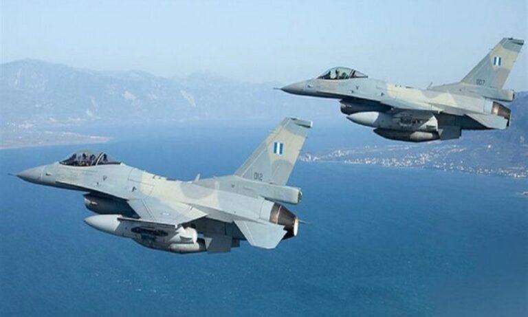 Ελληνικά F-16: Πέταξαν πάνω από το Καστελόριζο – Δείτε video