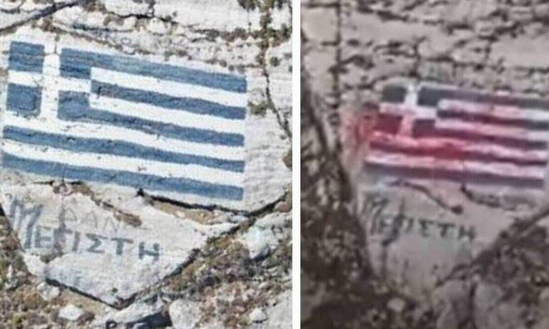 Καστελόριζο: Βεβήλωση της ελληνικής σημαίας – Αίτημα συνδρομής στην Interpol