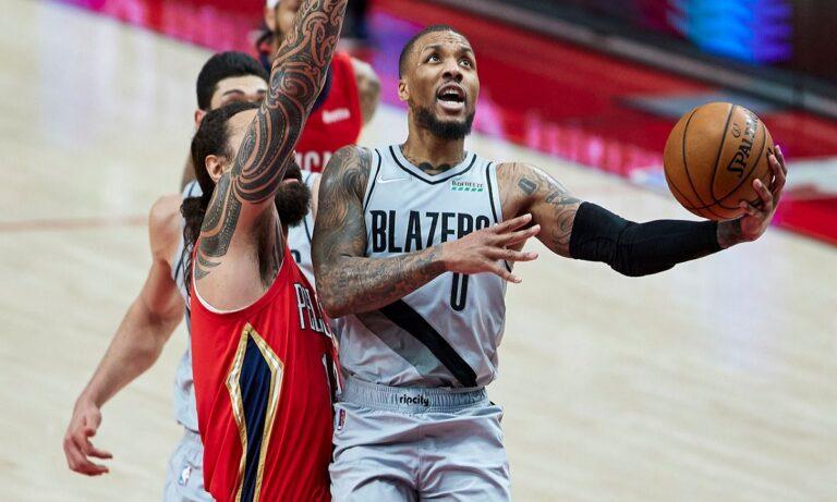 NBA Αποτελέσματα: Αδιανόητος Λίλαρντ, χαζεύει κόσμο και ο ΛαΒίν (vid)