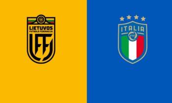 Λιθουανία-Ιταλία: Το LIVE του Sportime για την αναμέτρηση στο πλαίσιο της προκριματικής φάσης του Παγκοσμίου Κυπέλλου 2022.