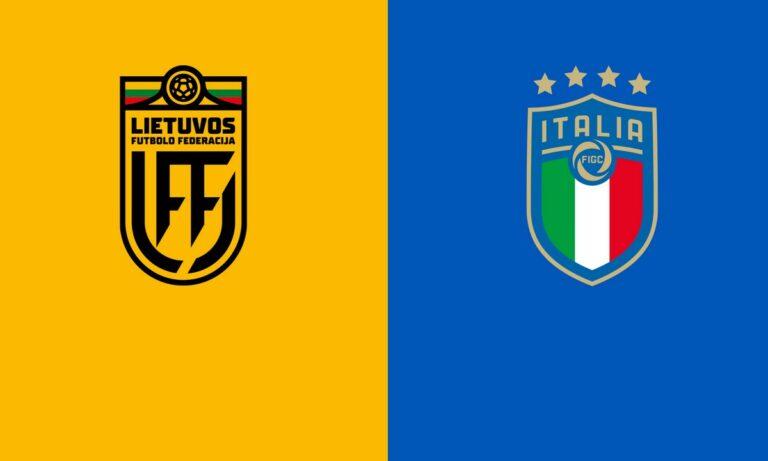 Λιθουανία – Ιταλία 0-2 (ΤΕΛΙΚΟ)