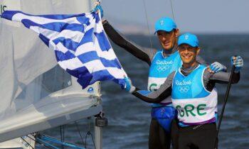 Με το δεξί μπήκαν οι Παναγιώτης Μάντης – Παύλος Καγιαλής στην πρεμιέρα του παγκοσμίου πρωταθλήματος 470 στη Βιλαμούρα της Πορτογαλίας.