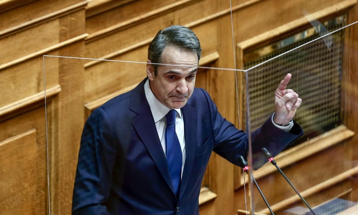 Ο Κυριάκος Μητσοτάκης πήρε μέρος σε συζήτηση με τον πρόεδρο του ΣΕΒ Δημήτρη Παπαλεξόπουλο στο πλαίσιο του διαδικτυακού συνεδρίου «Innovative Greeks».