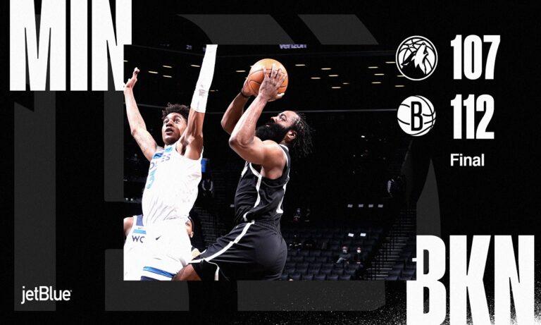 NBA Αποτελέσματα: Ξανά νίκη για τους Νετς – Ο Κάρι οδηγεί τους Γουόριορς (vids)
