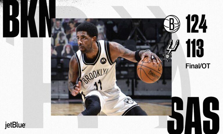 NBA Αποτελέσματα: Συνεχίζουν ακάθεκτοι οι Νετς με «τριπλό» Χάρντεν (vids)