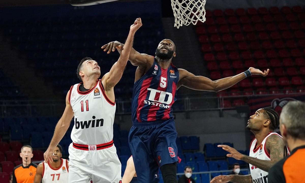 Μπασκόνια- Ολυμπιακός 91-66: Ελεύθερη πτώση και αρνητικό ρεκόρ!