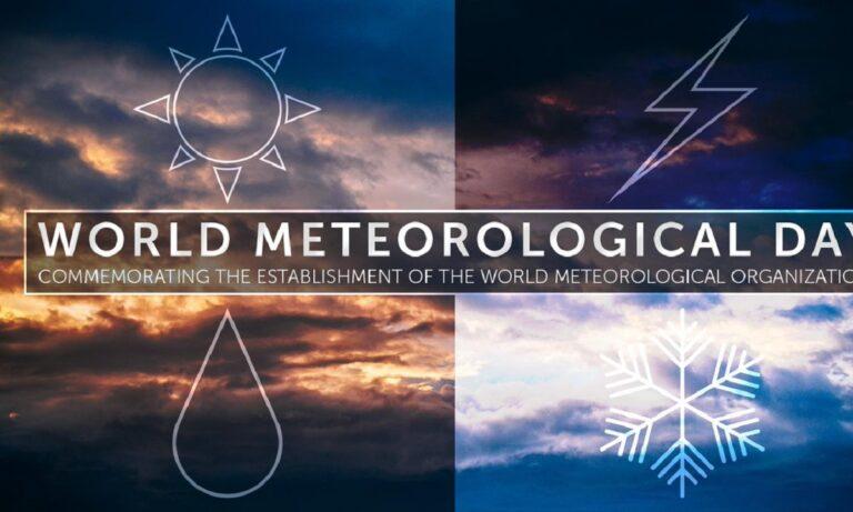 23 Μαρτίου: Παγκόσμια Ημέρα Μετεωρολογίας