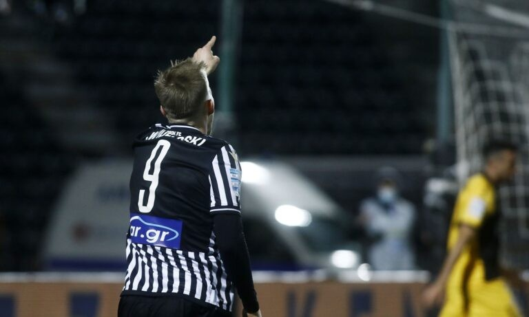 ΠΑΟΚ – ΑΕΚ: Το γκολ του Σβιντέρσκι που ακυρώθηκε (vid)