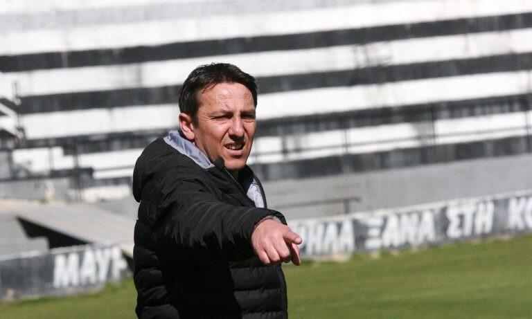 Παπαδόπουλος: «Με περηφάνια, με μαχητικότητα να μπούμε στην εξάδα»