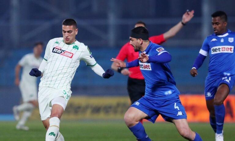 ΠΑΣ Γιάννινα – Παναθηναϊκός 0-0 (1ο ημίχ.)