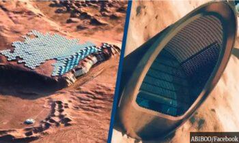 Πλανήτης Άρης: Ένα στούντιο αρχιτεκτονικής παρουσίασε με σχεδιαστικές αποδόσεις πώς θα μπορούσε να είναι η ζωή στην «πρωτεύουσά» του.