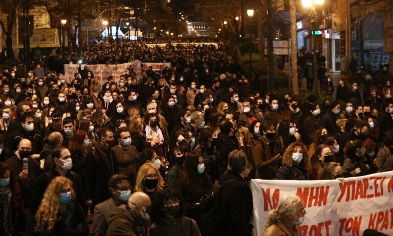 Κουφοντίνας: Μεγάλες πορείες σε Αθήνα, Θεσσαλονίκη αλλά και Βερολίνο (vids)