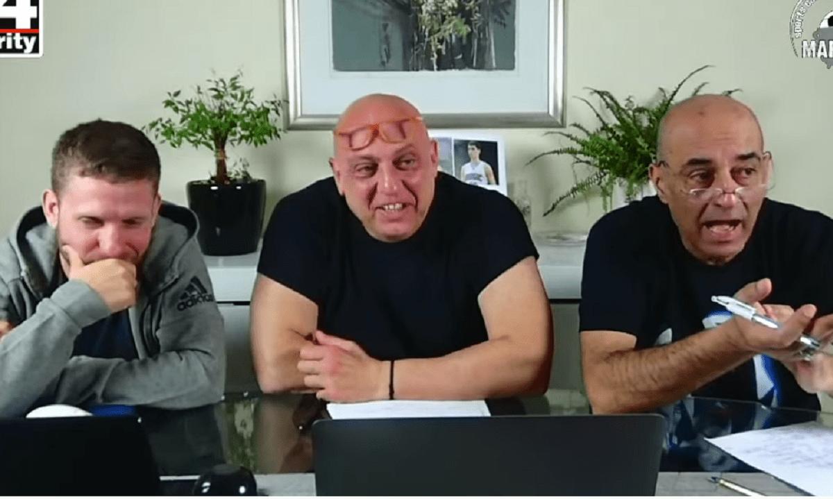 Τον επαναληπτικό του Κυπέλλου Ελλάδας Άρης-Ολυμπιακός 1-1 σχολίασε ο Κωστής Ραπτόπουλος και η διαδικτυακή παρέα της «Μαρμίτας».