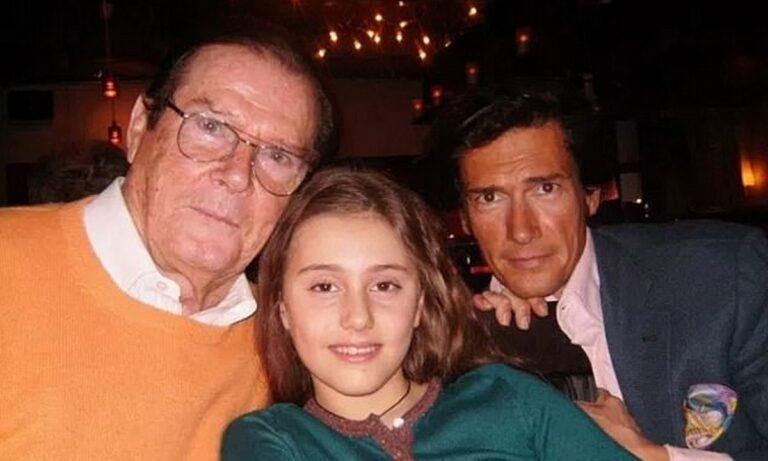 Ρότζερ Μουρ: Έχετε δει την εγγονή του «Τζέιμς Μποντ;»