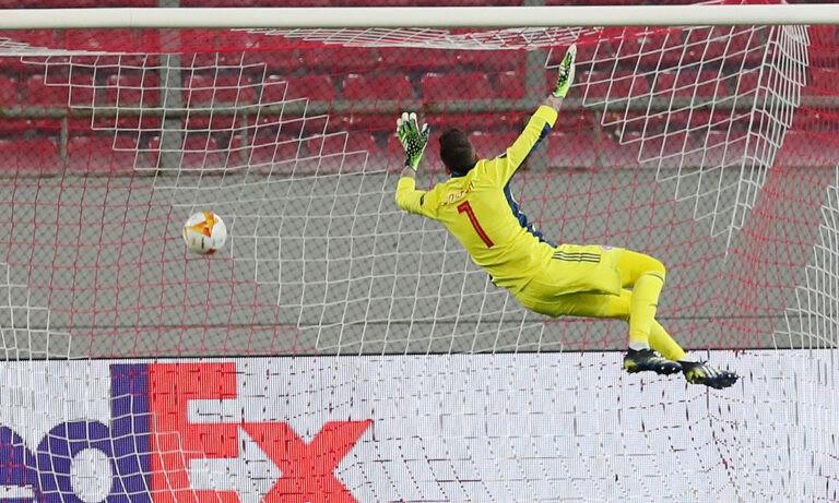 Ολυμπιακός – Άρσεναλ: Έπιασε το άπιαστο, αλλά είχε ευθύνη στο 0-1 (vid)