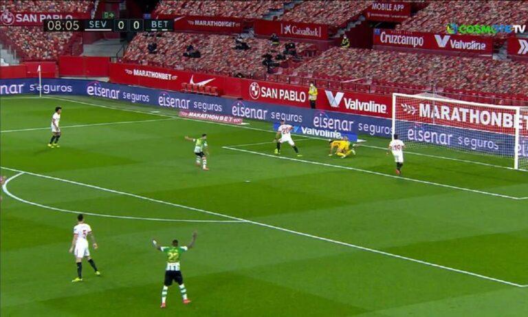 Σεβίλλη – Μπέτις 1-0: «Κλειδώνει» την 4η θέση με το γκολ του Εν-Νεσιρί