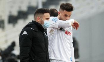O Στέφανος Σιόντης υπολογίζεται για το παιχνίδι κυπέλλου του ΠΑΣ Γιάννινα με την ΑΕΛ.