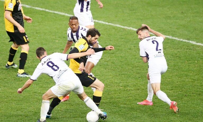 Βαθμολογία Super League 1: Η ΑΕΚ έπιασε τον Άρη στη 2η θέση