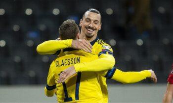 Σουηδία - Γεωργία 1-0: Με τον «αέρα» του Ζλάταν!