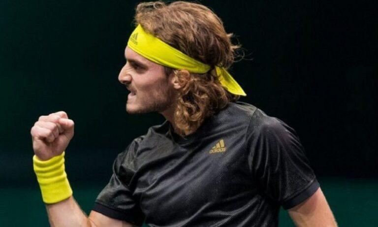 Τσιτσιπάς: Στους «8» του Rotterdam Open με… κραυγή! (vid)
