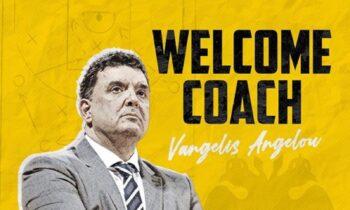 Λίγες μέρες μετά τη συμφωνία και λίγες ώρες μετά την... ανακοίνωση του Ιωνικού, ο Βαγγέλης Αγγέλου ονομάστηκε κι επίσημα προπονητής της ΑΕΚ.
