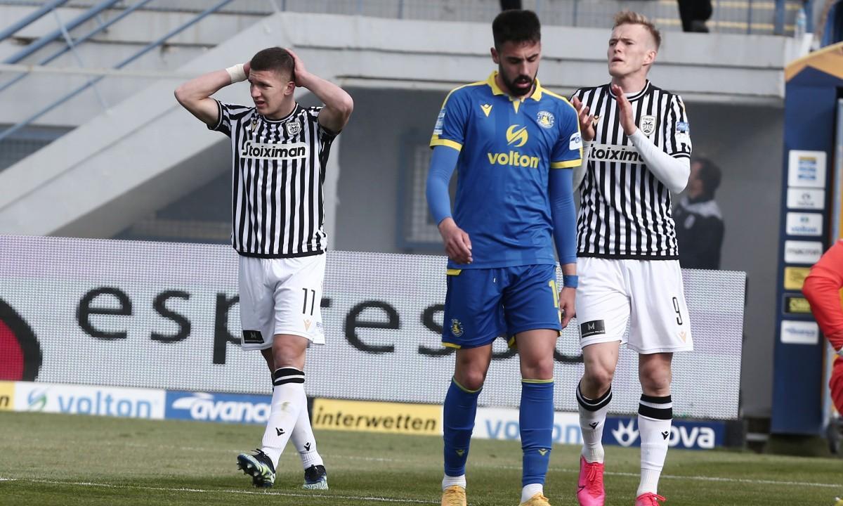 Αστέρας Τρίπολης-ΠΑΟΚ 1-1: Έχασαν και οι δύο!