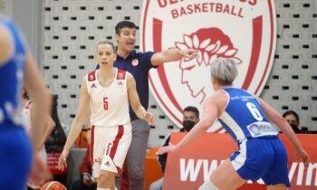 Στο παιχνίδι με το οποίο άνοιξε η αυλαία της 1ηςΑγωνιστικής του Β' Γύρου του πρωταθλήματος της Α1 Γυναικών ο Ολυμπιακός επικράτησε με 77-66 του ΠΑΣ Γιάννινα.