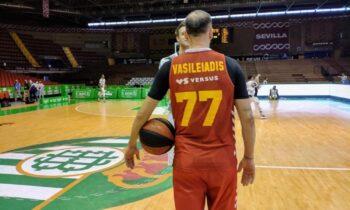 Στην αγαπημένη του Ισπανία, ο Κώστας Βασιλειάδης έχει φτιάξει καλό όνομα και ο ίδιος αισθάνεται πολύ καλά εκεί και το δείχνει.
