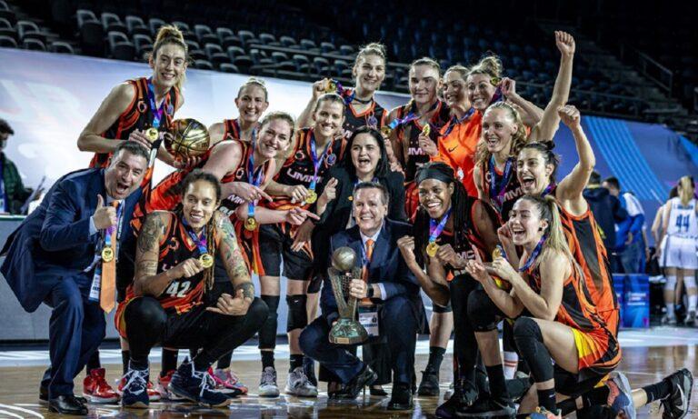 Euroleague Γυναικών: Δυναστεία της Εκατερίνενμπουργκ