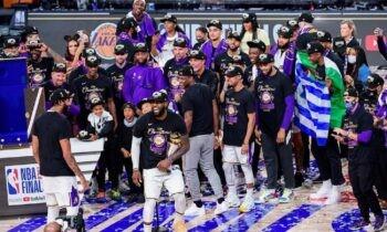 Οι πρωταθλητές του NBA για το 2020, Λος Άντζελες Λέικερς, ακόμα δεν έχουν κάνει την καθιερωμένη επίσκεψη στο Λευκό Οίκο και στον πρόεδρο των ΗΠΑ.