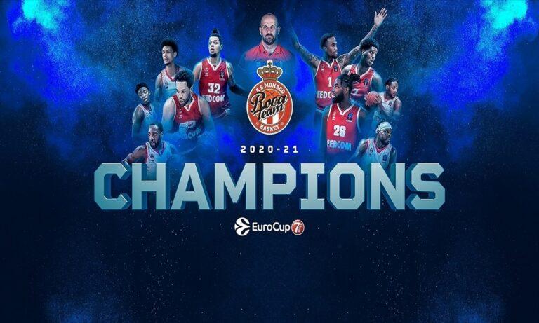 Η Μονακό κατέκτησε το Eurocup (Vid)