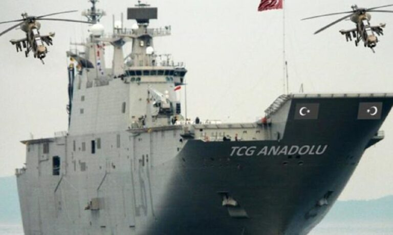 Ελληνοτουρκικά: Έλληνας Στρατηγός για το TCG Anadolu: «Αυτό στη Λίμνη του Αιγαίου δεν έχει καμιά τύχη»