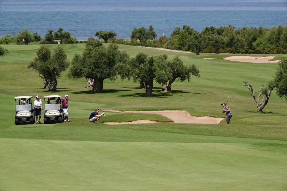Γκολφική δράση από το The Bay Course (Greek Maritime Golf Event by Charis Akriviadis)