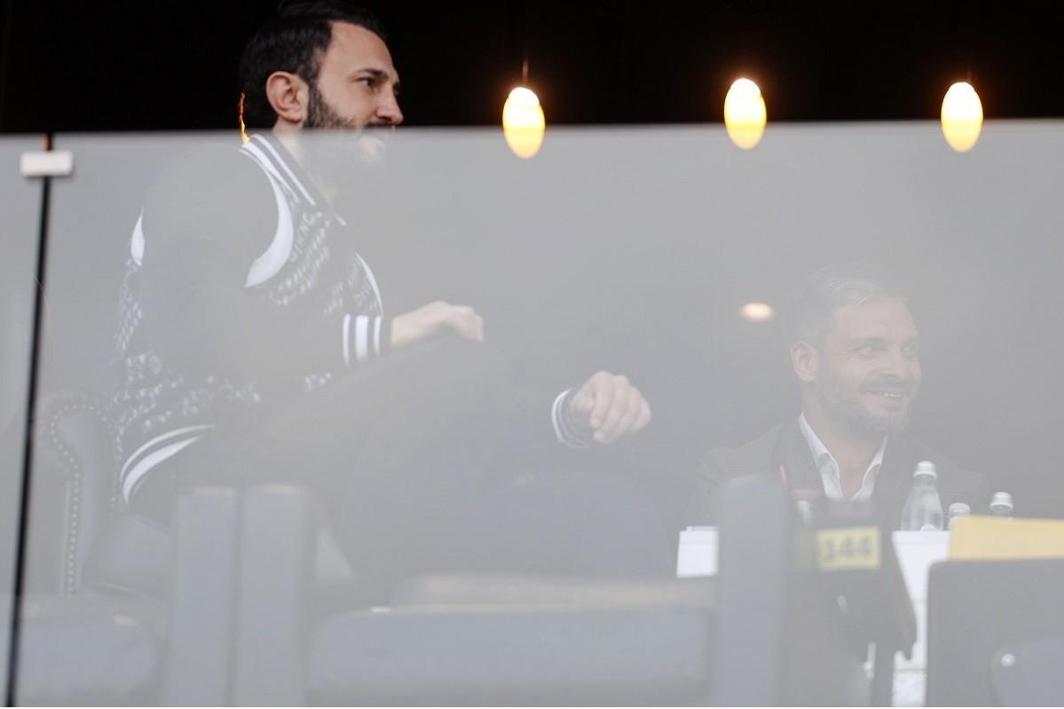 Με την ψυχή του πανηγύρισε ο Θόδωρος Καρυπίδης την πολύ σημαντική νίκη που πέτυχε ο Άρης επί του Αστέρα Τρίπολης με σκορ 2-0.