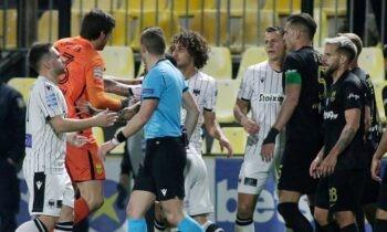 Άρης-ΠΑΟΚ: Ο δικέφαλος ήταν ο νικητής του ντέρμπι της Θεσσαλονίκης, επικρατώντας με 1-0 στο Βικελίδης για την 5η αγωνιστική των πλέι άουτ.