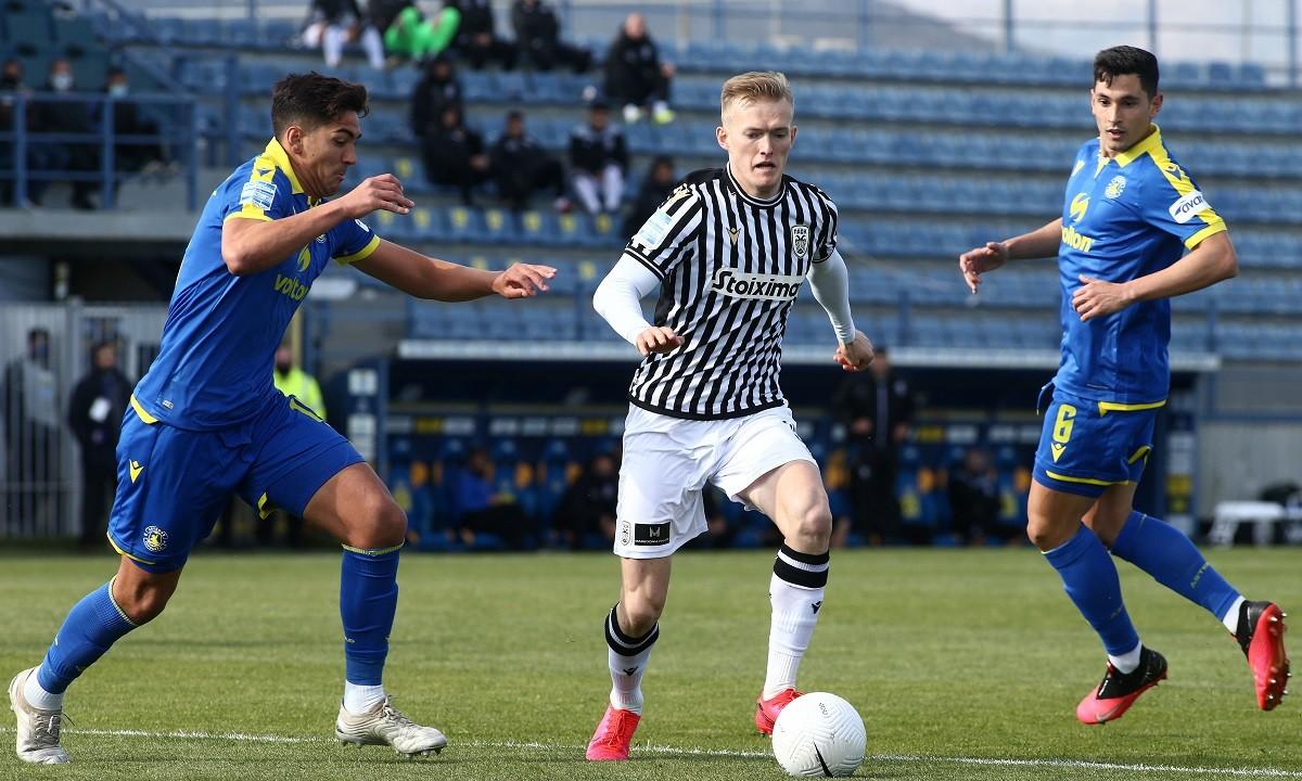Αστέρας Τρίπολης – ΠΑΟΚ 1-1 ΤΕΛΙΚΟ