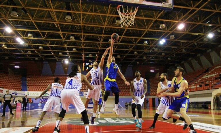 Basket League: Ορίστηκε ο επαναληπτικός για το Περιστέρι- Λάρισα