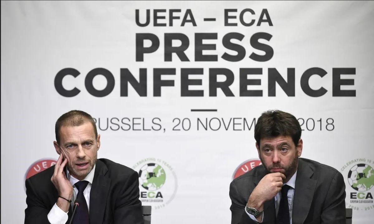 European Super League: Η πισώπλατη «μαχαιριά» του Αντρέα Ανιέλι στον κουμπάρο του, Αλεξάντερ Τσέφεριν