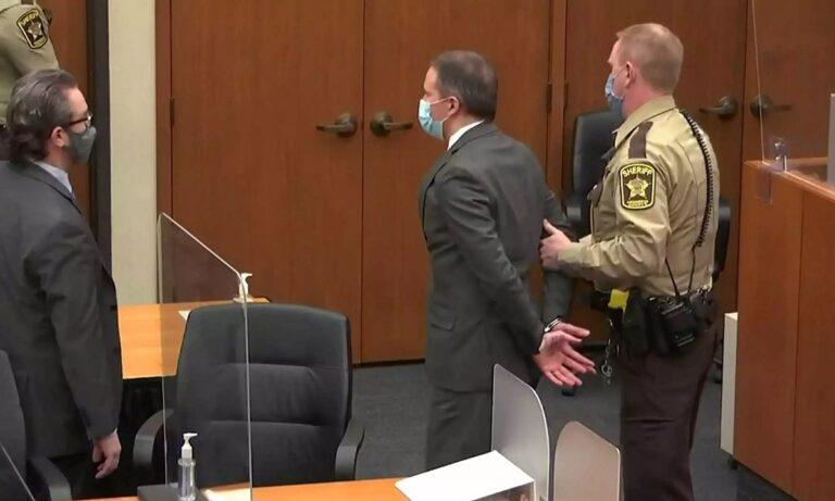 Τζορτζ Φλόιντ: Ένοχος για δολοφονία ο αστυνομικός Ντέρεκ Σόβιν