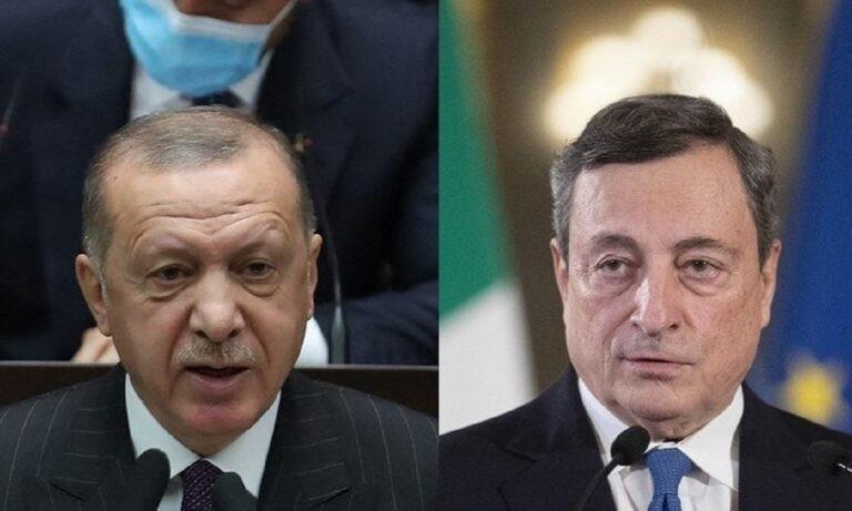 Τουρκία – Ιταλία: «Πόλεμος» μετά τη δήλωση Ντράγκι για «δικτάτορα Ερντογάν» (vids)