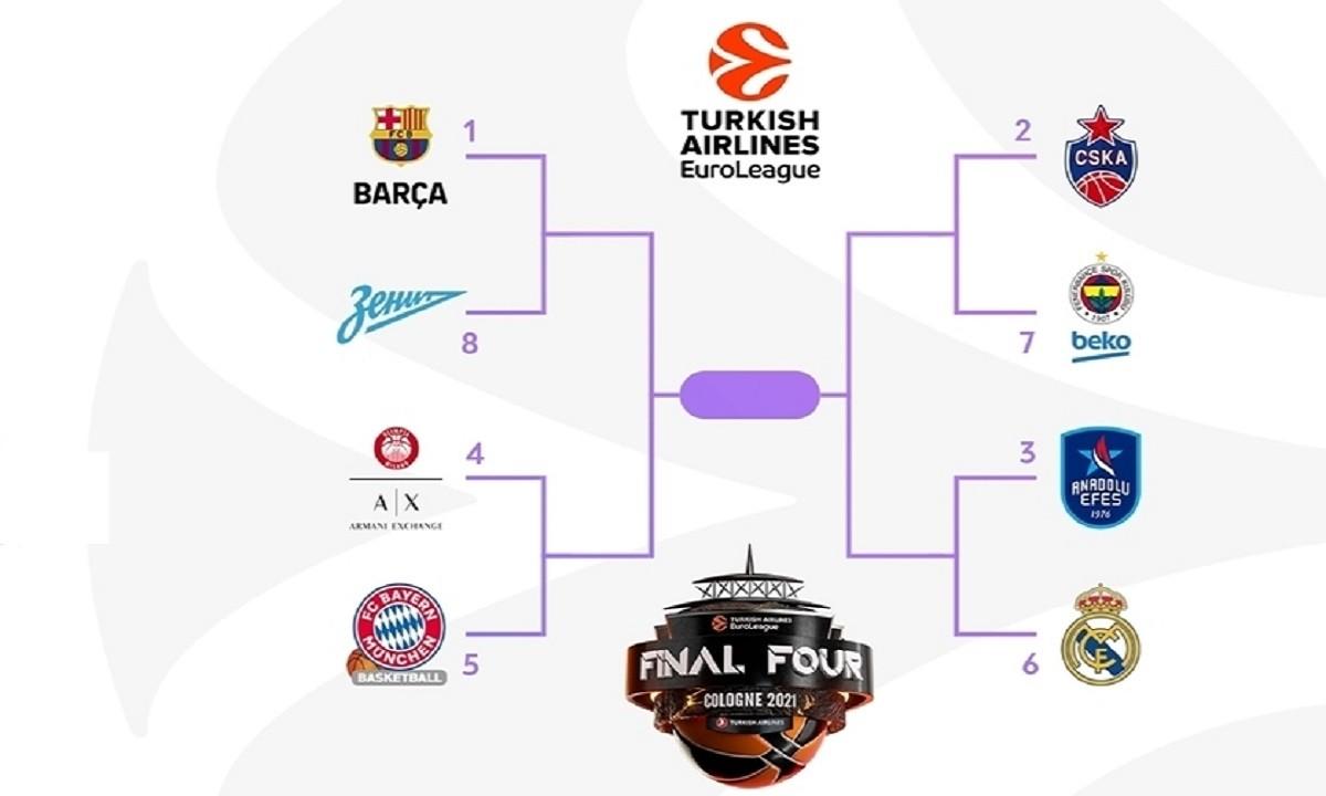 Euroleague: Τζάμπολ στα PlayOffs σε Πόλη και Μιλάνο