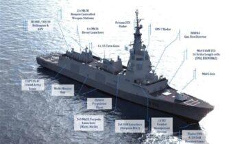 Φρεγάτες: Δύο νέα πλοία δίνουν ως ενδιάμεση λύση οι Ισπανοί σε αντίθεση με τον ανταγωνισμό που δίνει μεταχειρισμένα.