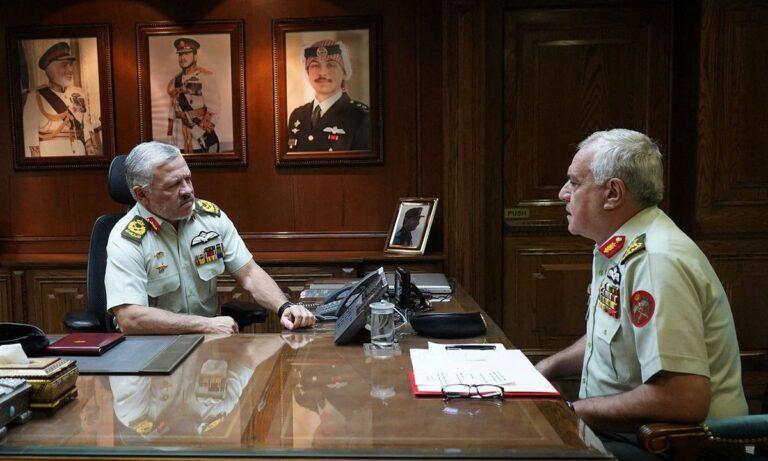 Jordan - Military generals