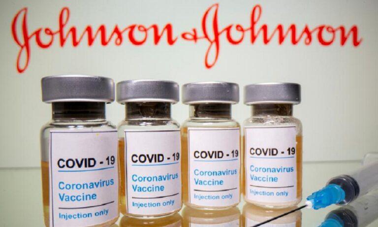 Εμβόλιο Johnson & Johnson: «Πράσινο φως» για τη χορήγηση στους άνω των 18 στην Ελλάδα