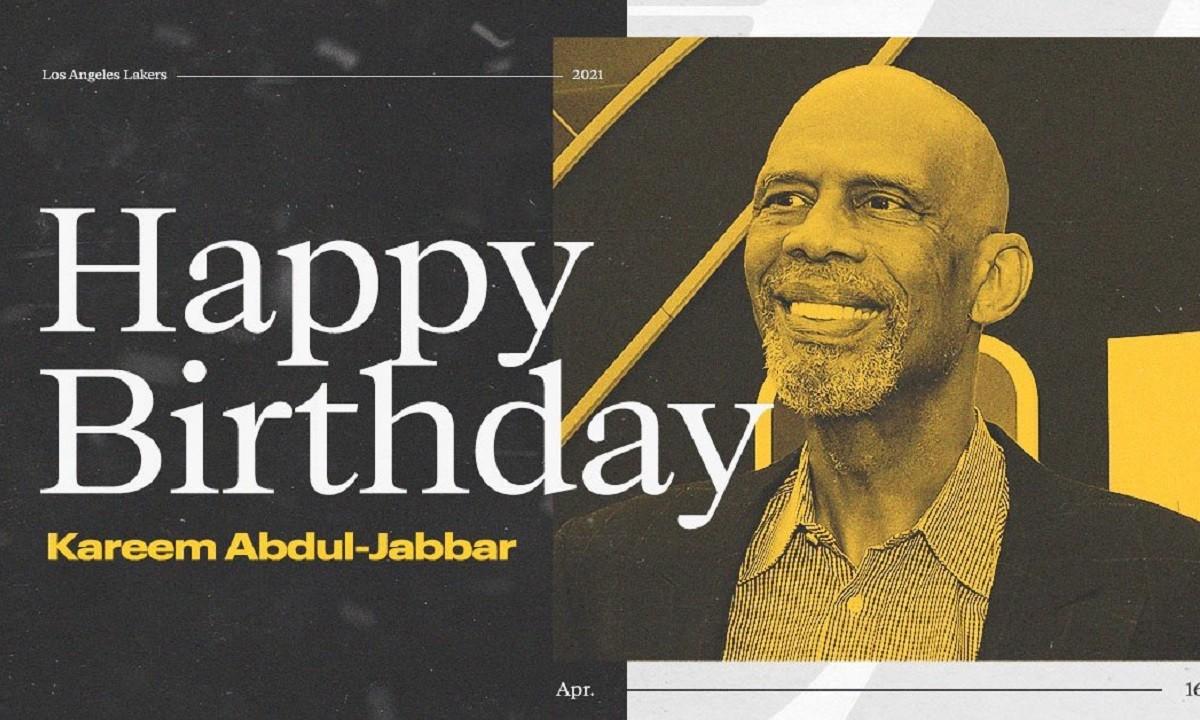 Λέικερς: Οι ευχές στον Καρίμ Αμπντούλ Τζαμπάρ με ρετρό στιγμές του