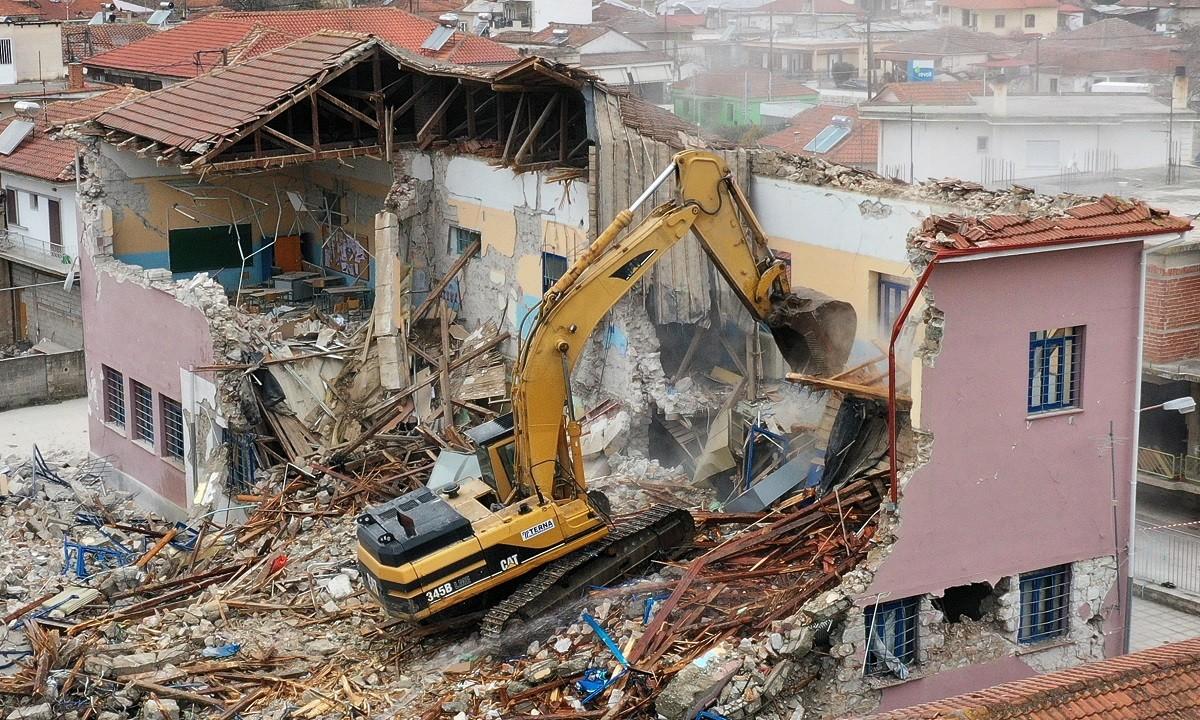 Θεσσαλία: 5 εκατομμύρια ευρώ για αποκατάσταση ζημιών από τον σεισμό